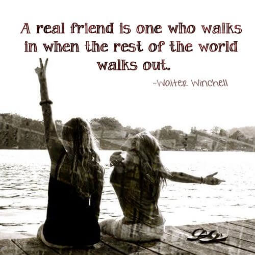 Friendship Quotes Real Friend