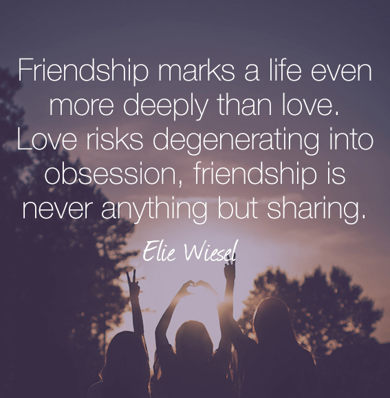 Friendship Quotes Sharing
