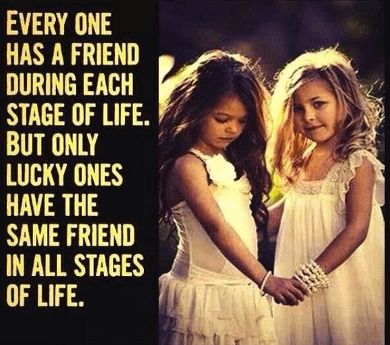 Friendship Quotes Stage Life