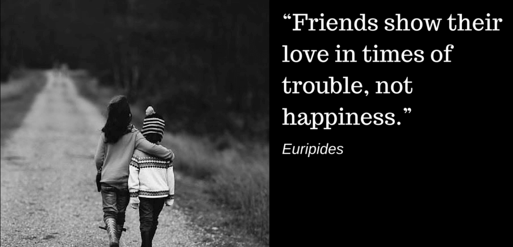 Friendship Quotes Trouble Happiness 1024x493