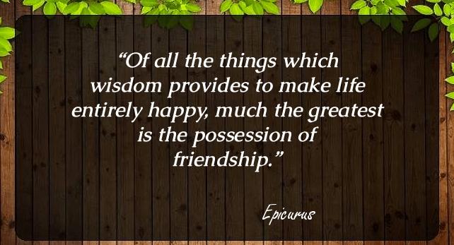 Friendship Quotes Wisdom