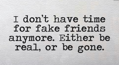 Good Quotes On Fake Friends