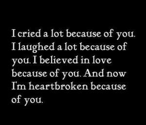 Heartbroken Quote You