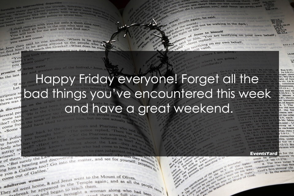 Its Friday Quotes