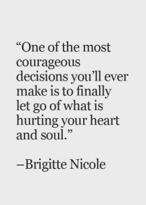 Let Go What Hurts