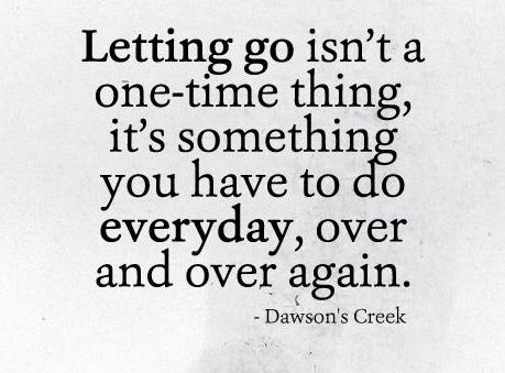 Letting Go Again