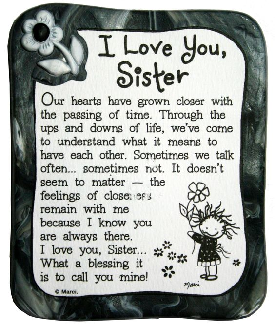 Love Sister Always Quote