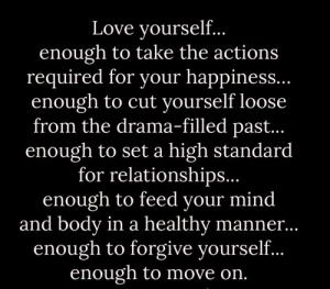 Love Yourself Self Worth Quote