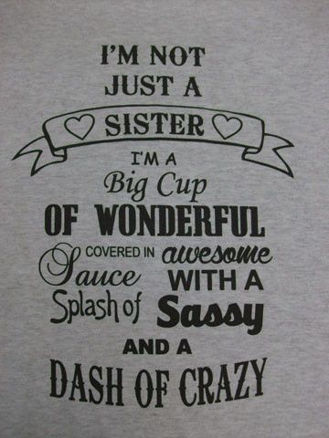 Not Just Sister