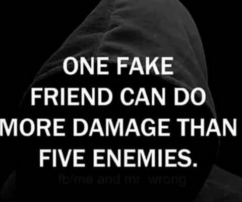 Quotes Based On Fake Friends
