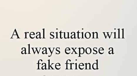 Quotes On Having Fake Friends