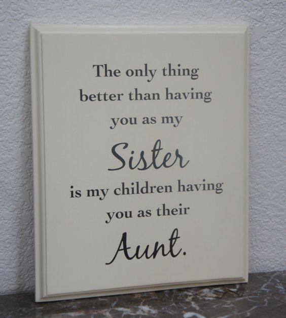 Sister Aunt