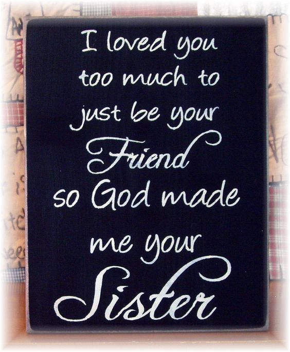 Sister Love Much