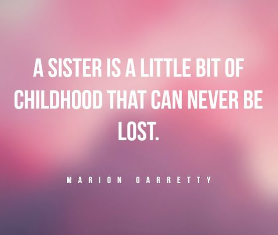 Sister Quote Child