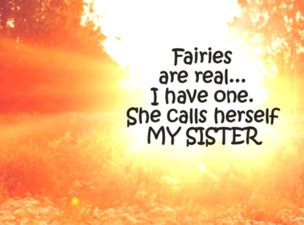 Sister Quote Fairies