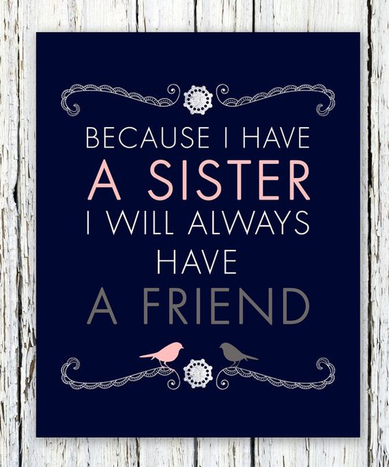 Sister Quote Friend