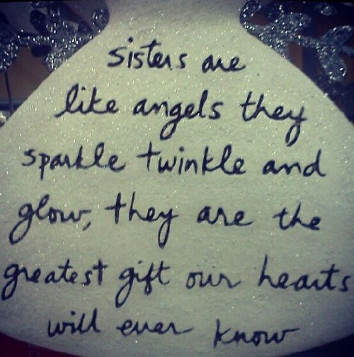 Sisters Angels Gift