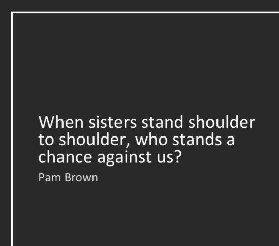 Sisters Stand