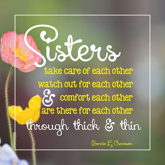 Sisters Thick Thin