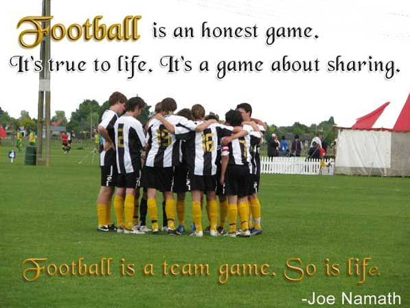 Soccer Quotes Captions