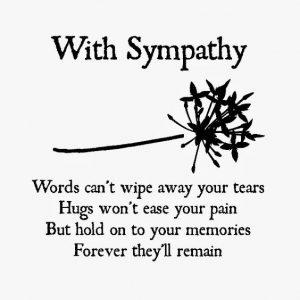 Sympathy Words