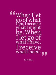 When Let Go Quote