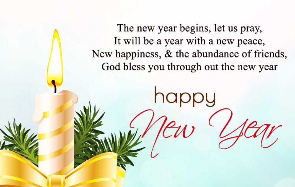 Happy New Year Wishes For Family Friends