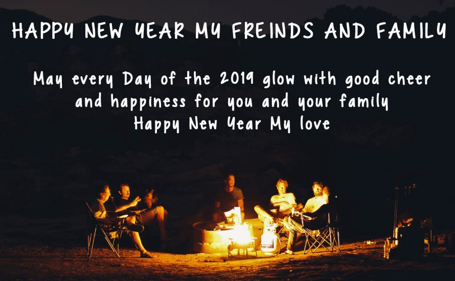 Happy New Year Wishes For Friends Photo
