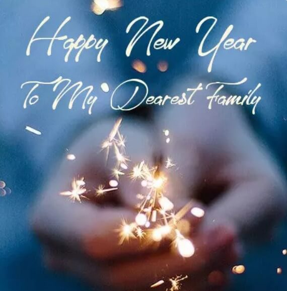 New Year Wishes For A Family