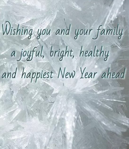 New Year Wishes For All Family