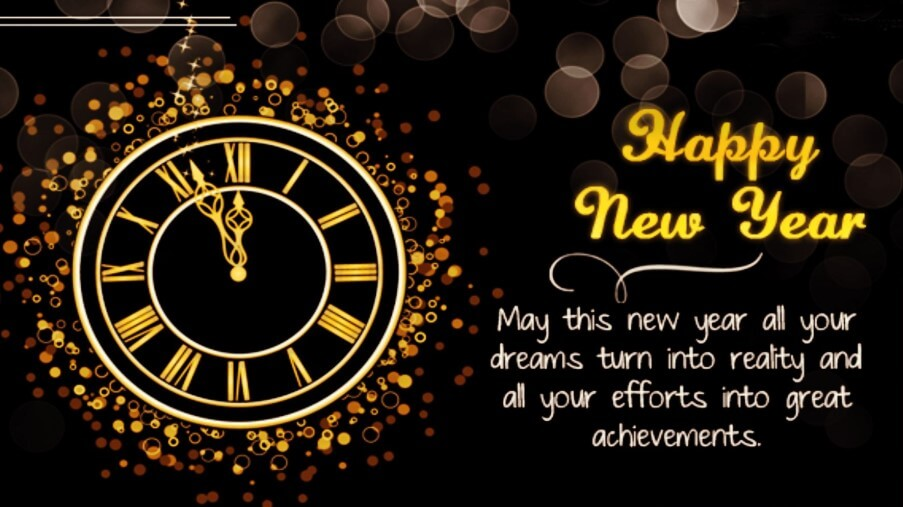 Short Happy New Year Wishes For Friends