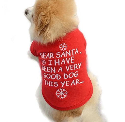 Christmas Costume For Girl Dogs