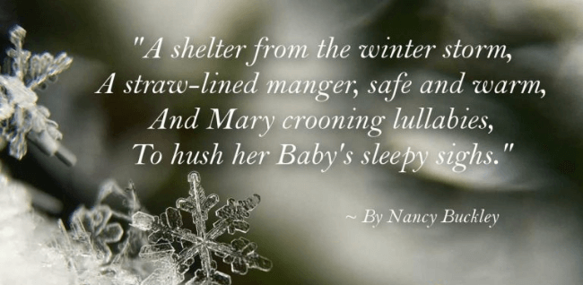 Christmas Poems For Kindergarten
