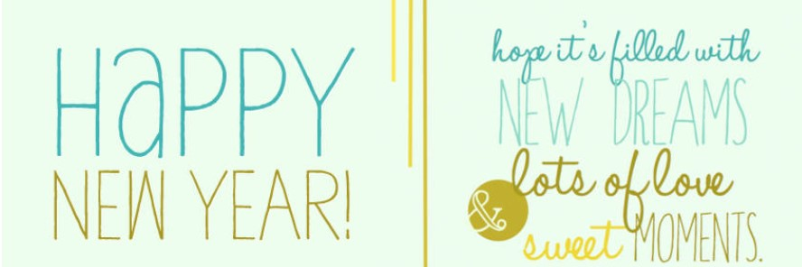 New Year Facebook Cover Images