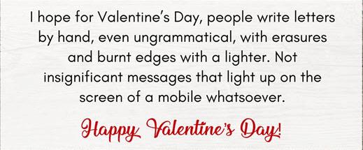 Best Valentines Day Status