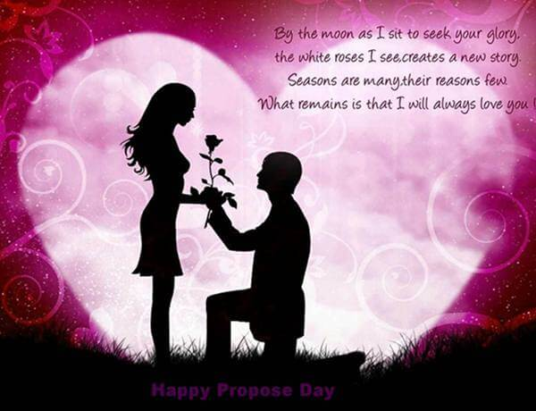 A Propose Day Message