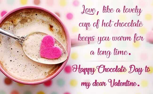 Chocolate Day Quotes For Christmas