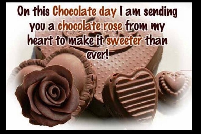 Chocolate Day Quotes For Wife