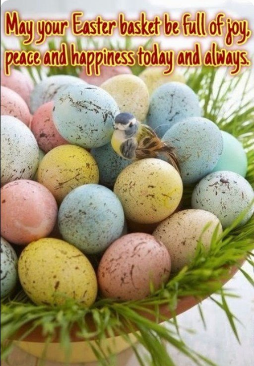 Happy Easter Sunday To All