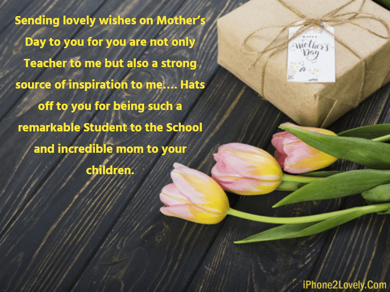 Happy Mothers Day Quotes Greeting From Students