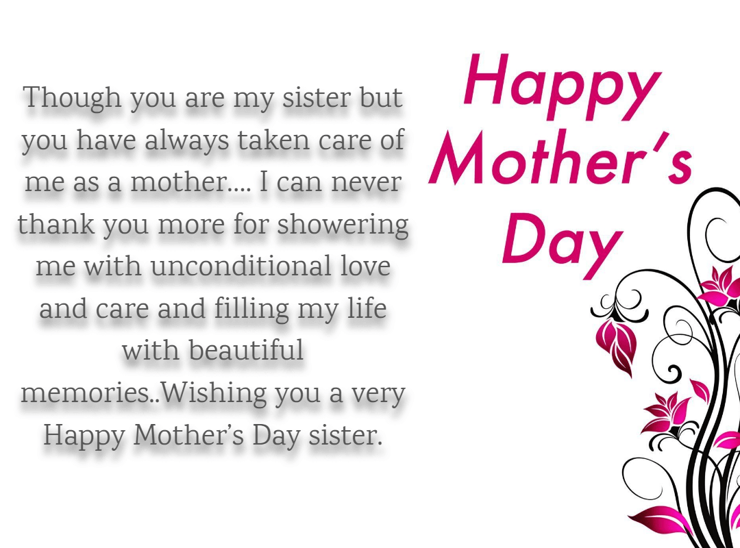 Mom Day Quotes For Big Sister
