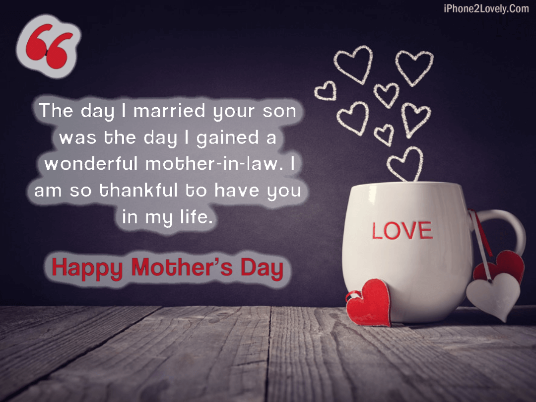 Mothers Day Positive Mother In Law Quotes