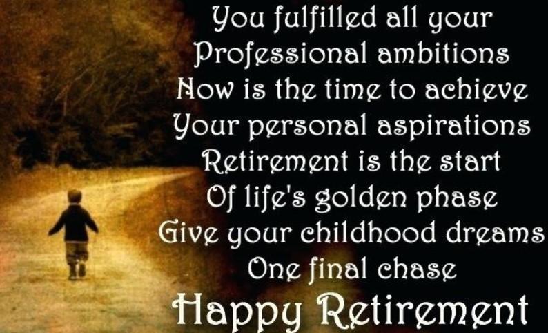 Retirement Quotes For Parents