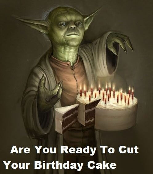 Star Wars Birthday Puns