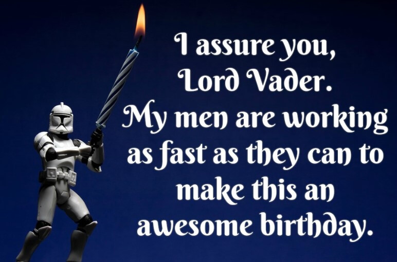 Star Wars Happy Birthday Funny