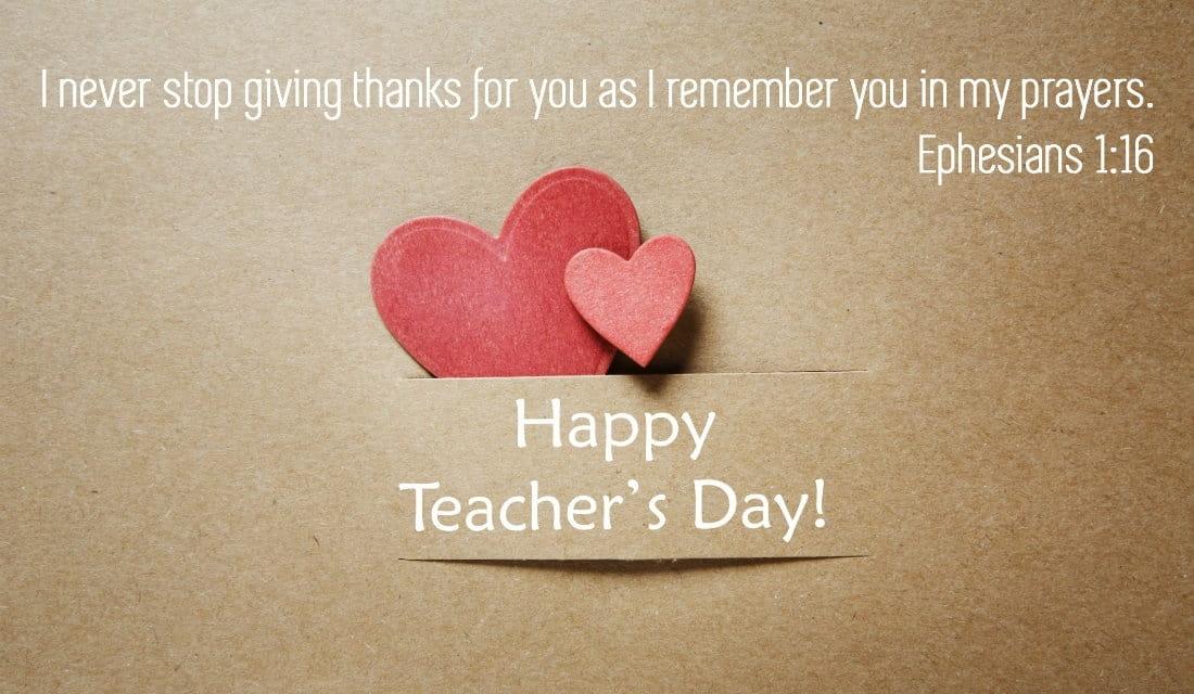 Teachers Day Greeting Card Designs