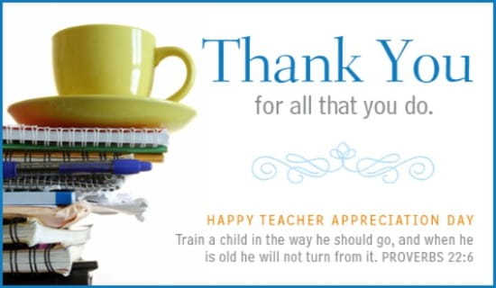 Teachers Day Greeting Cards Handmade