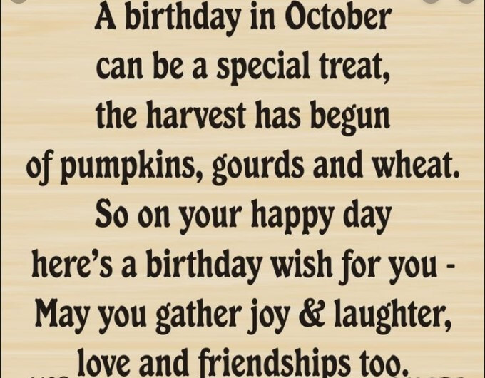 October Already Quotes
