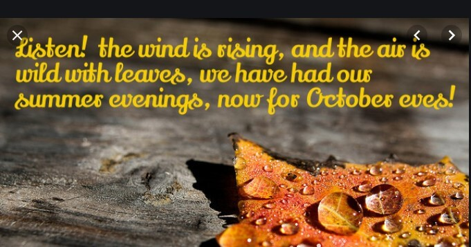 October Birthday Quotes Images