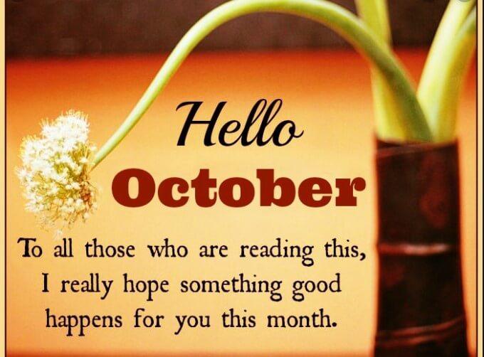 October Quotes Birthday